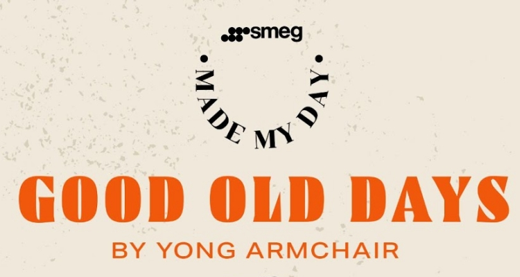 Smeg Made my day Playlist by Yong Armchair