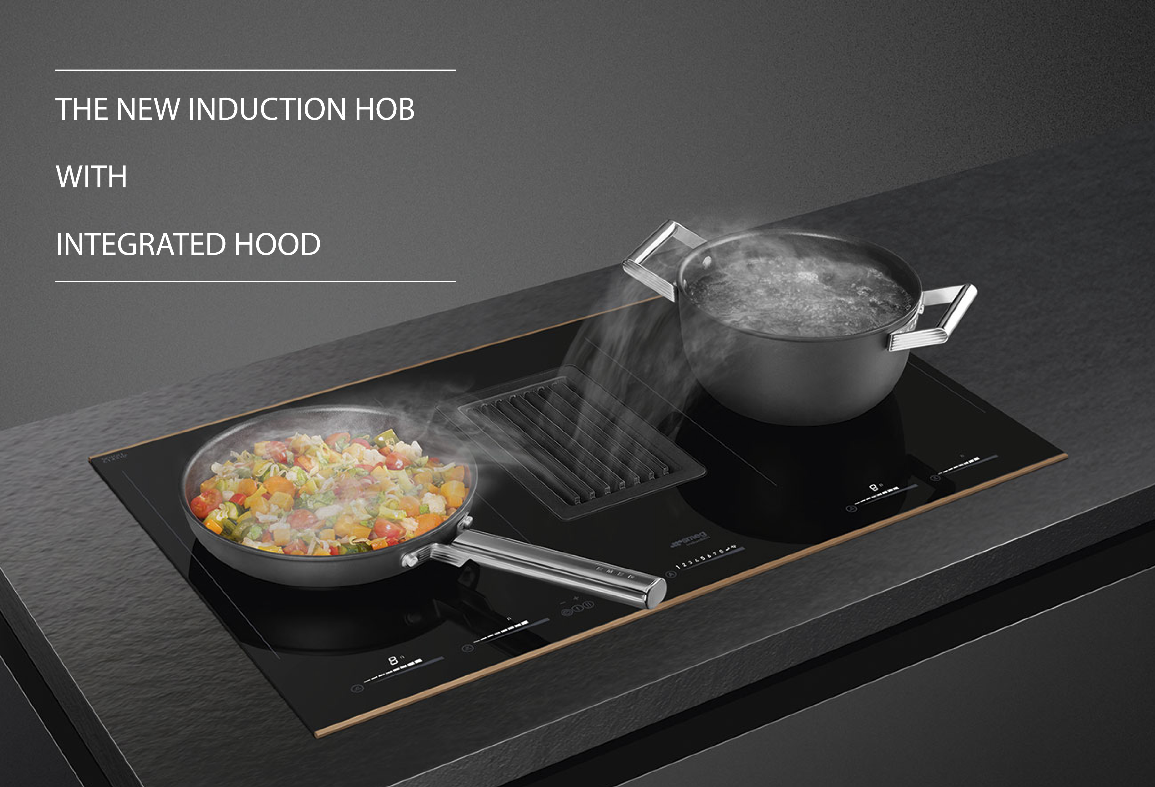The New Induction Hob with Integrated Hood